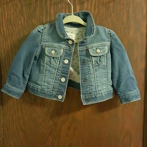 Gap Baby girl jean jacket